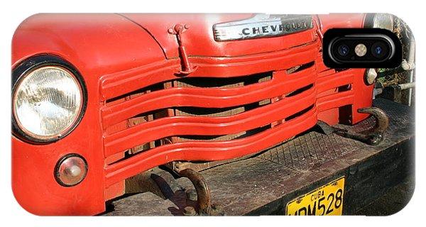 Antique Truck Red Cuba 11300502 IPhone Case