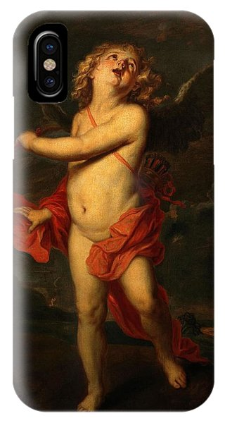 Gateway Arch iPhone Case - Anton Van Dyck / 'love', Canvas. Cupid. by Anthony van Dyck -1599-1641-