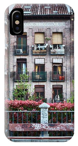 Apartments In Madrid IPhone Case
