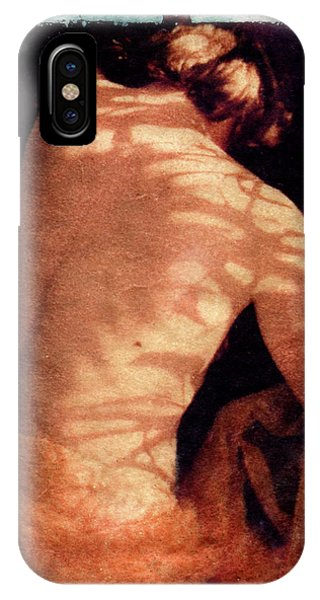 IPhone Case featuring the mixed media Aphrodite II by Catherine Sobredo
