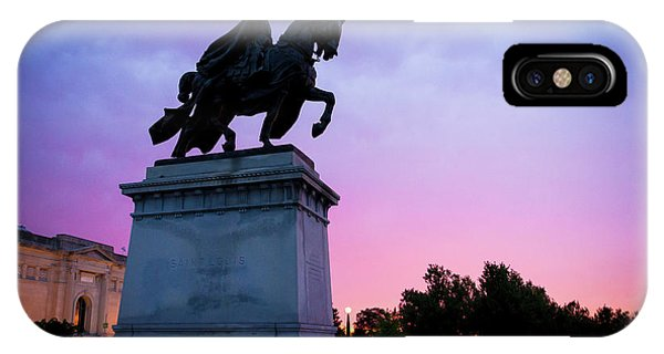 Apotheosis Of St. Louis, King Of France IPhone Case