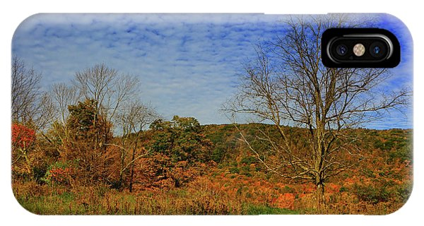 IPhone Case featuring the photograph Appalachian Trail Massachusetts In The Fall by Raymond Salani III