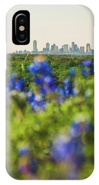 April In Dallas IPhone Case