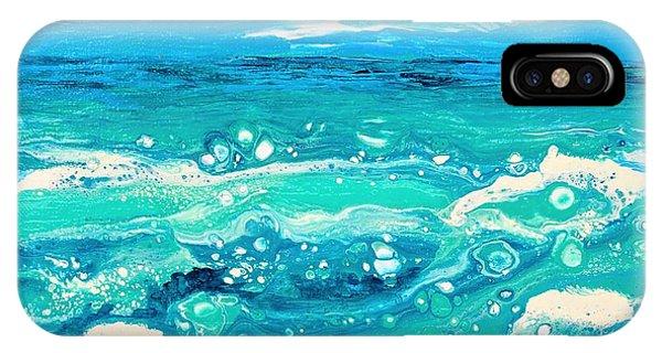 Aqua Seafoam IPhone Case
