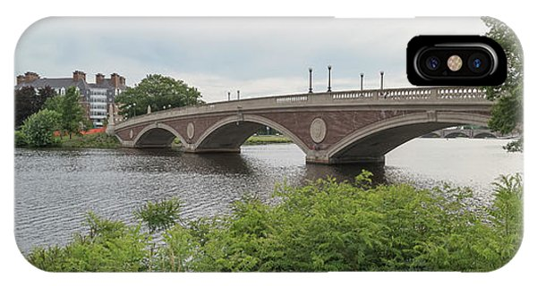 iPhone Case - Arch Bridge Over River, Cambridge by Panoramic Images