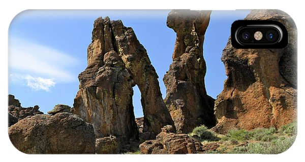 Arches Hoodoos Castles IPhone Case