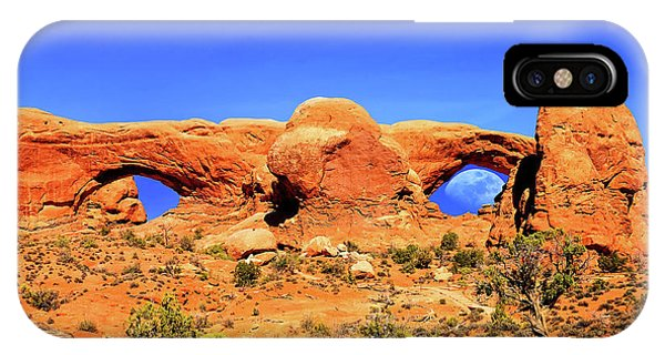 Arches Moon Eye IPhone Case