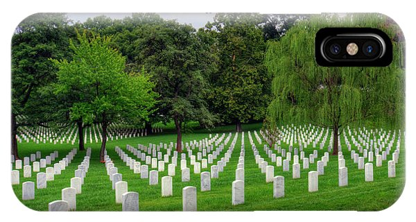 Department Of The Army iPhone Case - Arlington National Cemetery by Craig Fildes