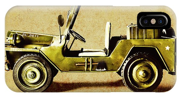 iPhone Case - Army Jeep by Jorgo Photography - Wall Art Gallery