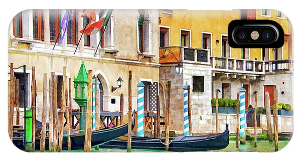 Palace iPhone Case - Arrival In Venice by Delphimages Photo Creations