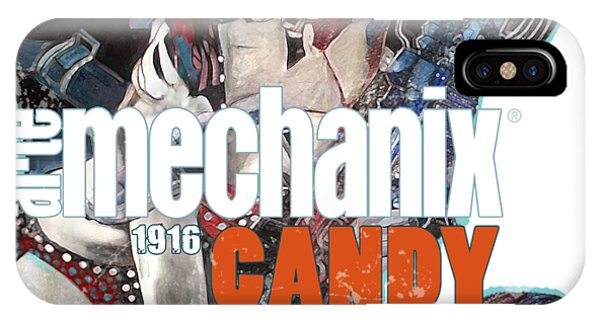 arteMECHANIX 1916 CANDY GOES TO WAR  GRUNGE IPhone Case