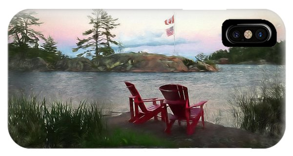 Granite iPhone Case - Artistic Evening On The Bay by Phill Doherty