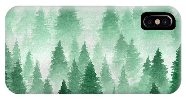 Freeze iPhone Case - Artwork. Background Painted With by Uliyagrish