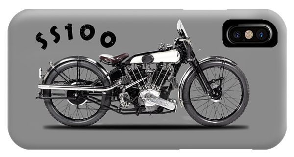 100 iPhone Case - The Ss 100 1925 by Mark Rogan