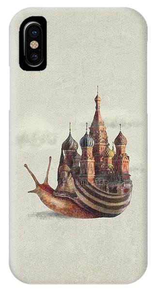 Surrealism iPhone Case - The Snail's Daydream by Eric Fan