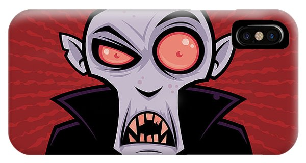 Holiday iPhone Case - Count Dracula by John Schwegel