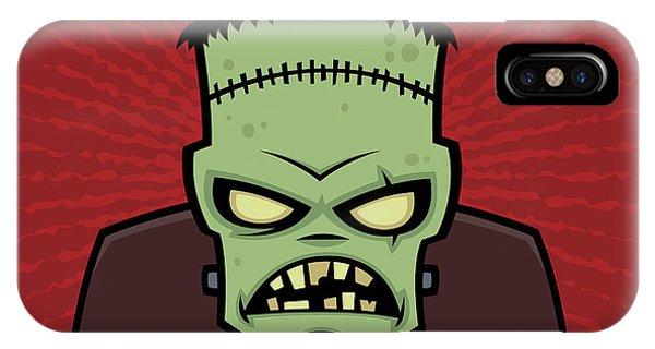 Holiday iPhone Case - Frankenstein Monster by John Schwegel