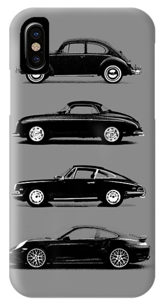 Car iPhone X Case - Evolution by Mark Rogan