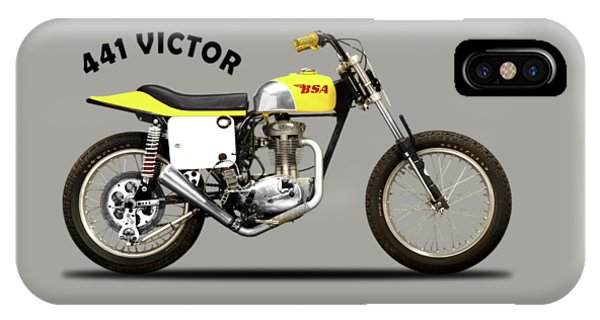 Trial iPhone Case - The Bsa 441 Victor by Mark Rogan
