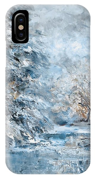 In The Snowy Silence IPhone Case