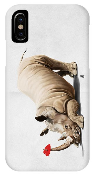 Horny Wordless IPhone Case
