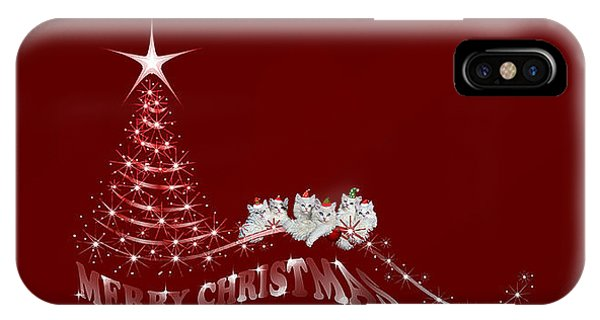 iPhone Case - The Christmas Seis by Cynthia Leaphart
