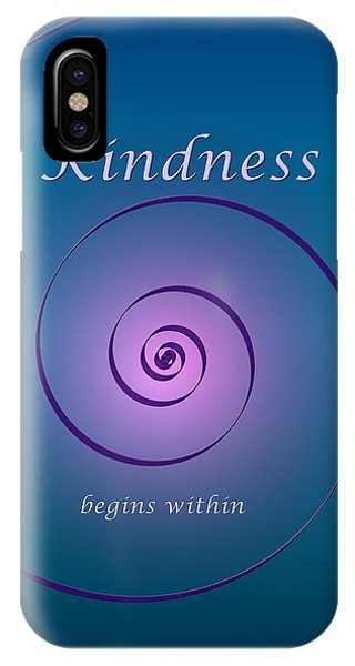 Kindness IPhone Case
