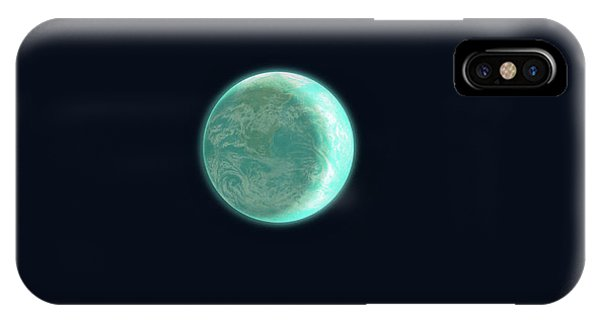 Space iPhone Case - Pale Blue Dot by Eric Fan