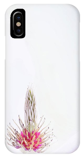 The Heart Of A Magnolia IPhone Case