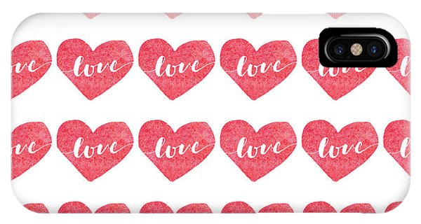 IPhone Case featuring the digital art Love Is In The Air by Bee-Bee Deigner