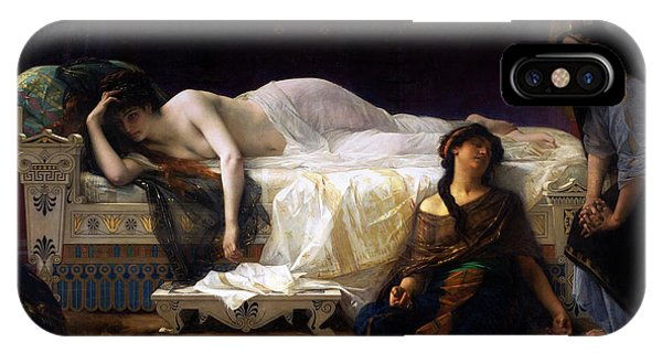 French Painter iPhone Case - Phedre By Alexandre Cabanel by Xzendor7