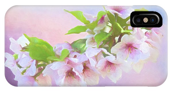 Charming Cherry Blossoms IPhone Case