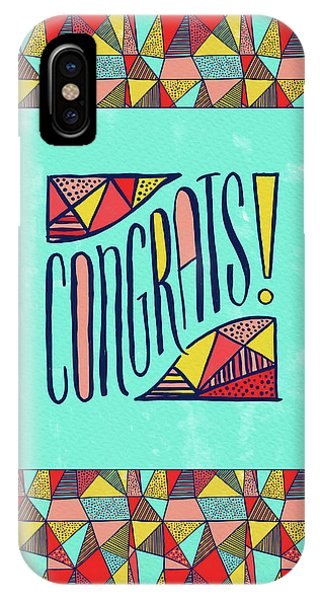 Congrats IPhone Case