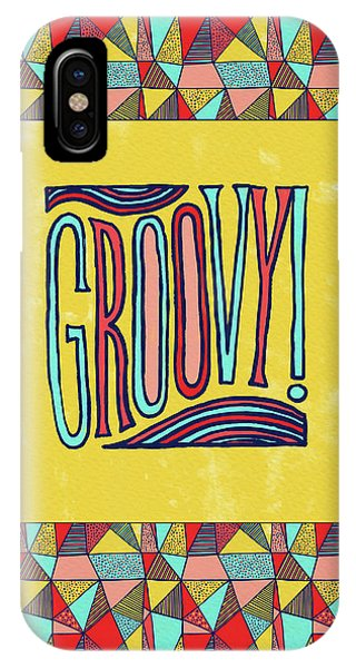 Groovy IPhone Case