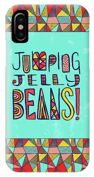 Jumping Jelly Beans IPhone Case