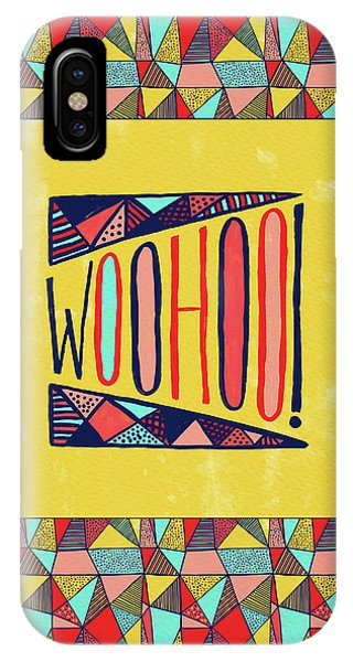 Woohoo IPhone Case