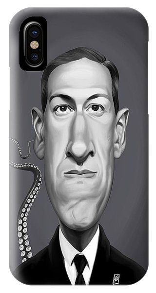 Celebrity Sunday - H.p Lovecraft IPhone Case