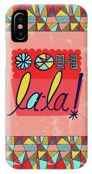 Ooh La-la IPhone Case