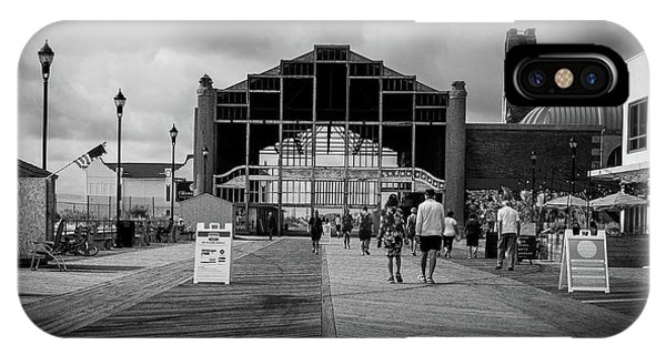 IPhone Case featuring the photograph Asbury Park Boardwalk by Steve Stanger