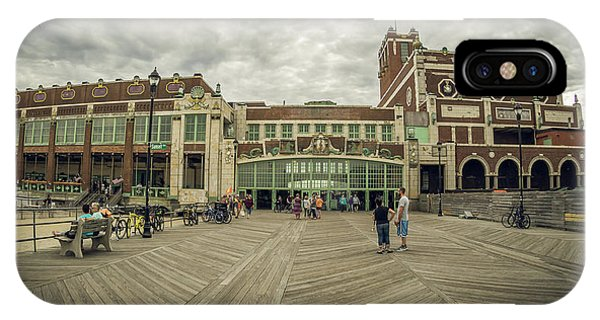 Asbury Park Convention Hall IPhone Case