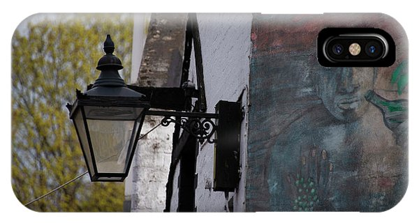 iPhone Case - Ashton Lane Glasgow Street Lamp by Bill Cannon
