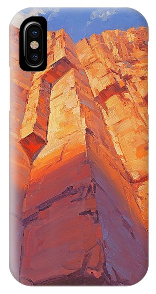 Red Rock iPhone X Case - Aspirations  by Cody DeLong