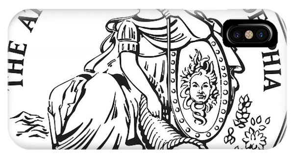 Athenaeum Of Philadelphia Logo IPhone Case