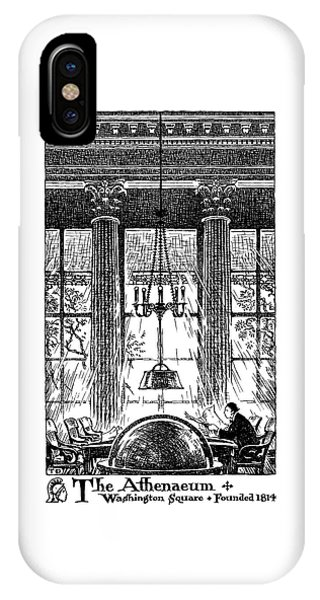 Athenaeum Reading Room IPhone Case