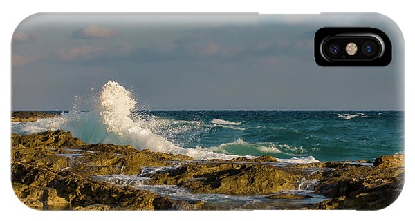 IPhone Case featuring the photograph Atlantis Breakers by Jeff Phillippi