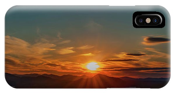 Attean Pond Sunset IPhone Case