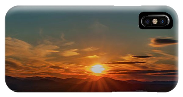 IPhone Case featuring the photograph Attean Pond Sunset by Rick Hartigan