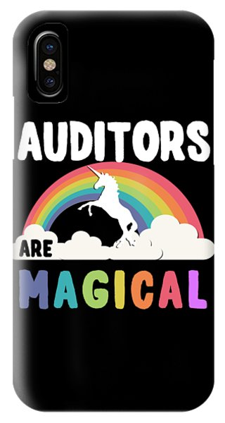 Auditors Are Magical IPhone Case
