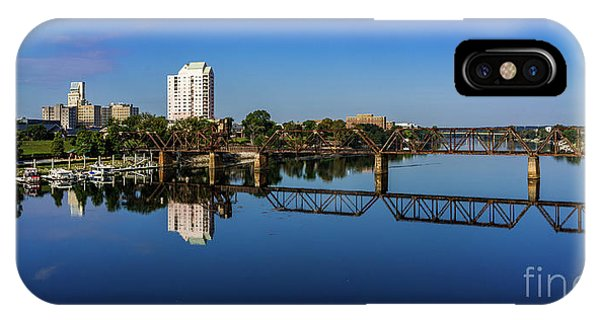 Augusta Ga Savannah River Panorama IPhone Case