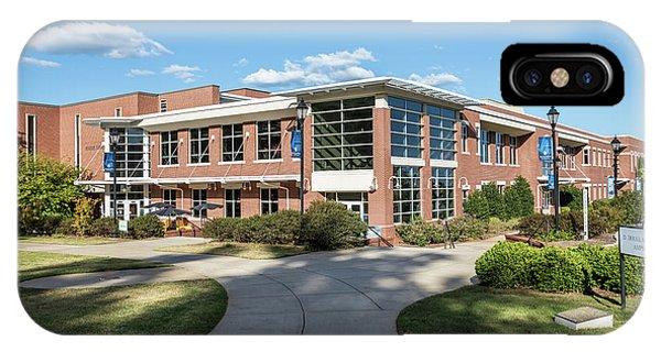 Augusta University Student Activity Center Ga IPhone Case